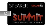Speaking at Collab365 Summit