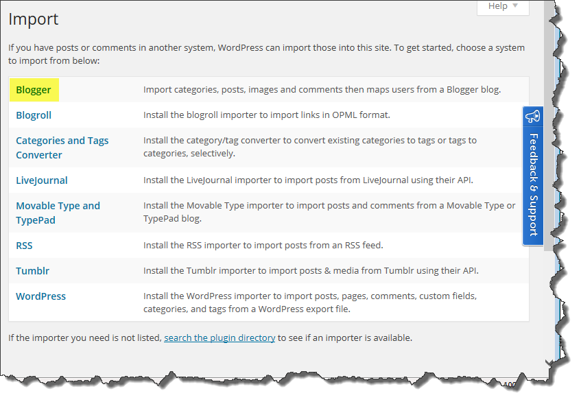 import-blogger