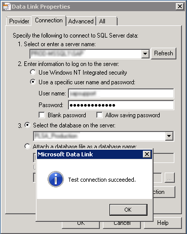 Handy Tip for Testing SQL Connectivity
