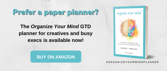 GTD Planner - Organize Your Mind