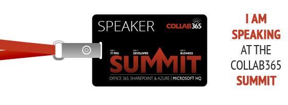 Speaking at Collab365 Summit
