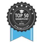 Top 50 SharePoint Sites - SharePointWendy